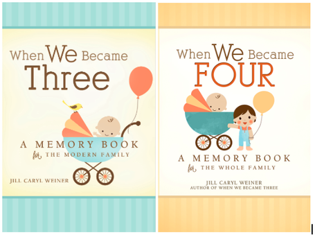 When We Became Four A Memory Book for the Whole Family